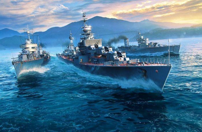 Альтернативная ветка советских эсминцев. кто на новенького!