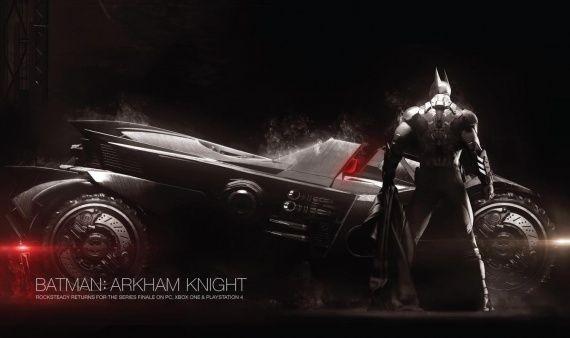 Анонсирован batman arkham knight