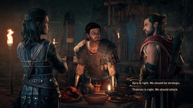Assassin's creed odyssey получит несколько концовок