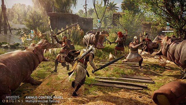 Assassin's creed origins получит «панель управления анимуса»