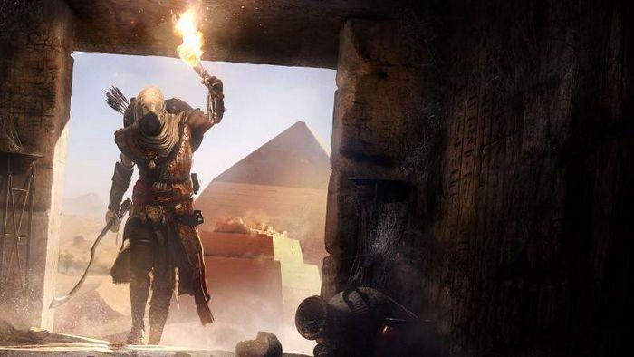 Assassins creed origins будет работать в 1080p и 60 fps на xbox one x