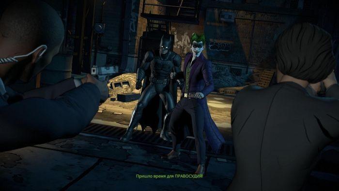 Batman: the enemy within - the telltale series: обзор сезона