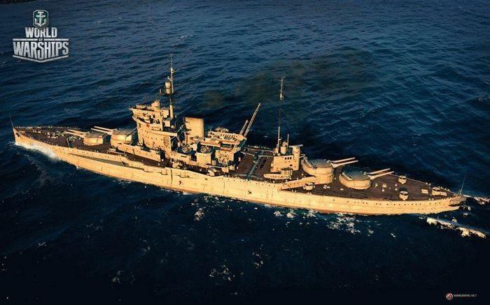 Британское вторжение в world of warships! линкор warspite