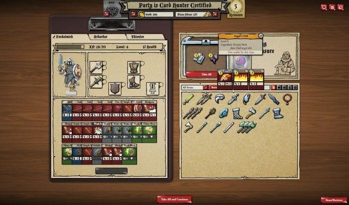 Card hunter: обзор