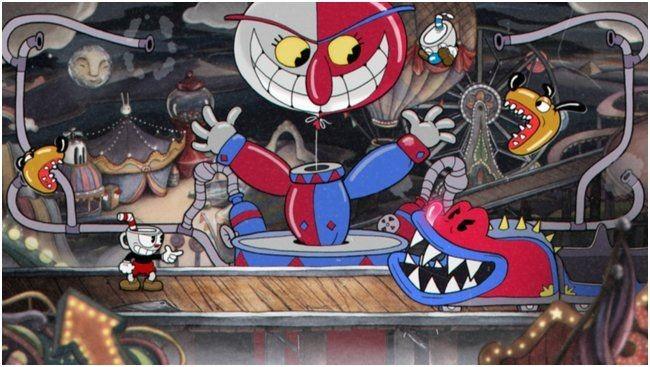 Cuphead вошла в пятерку самых продаваемых игр в steam