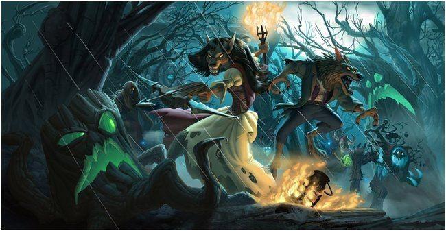 Дополнение «ведьмин лес» для hearthstone уже доступно