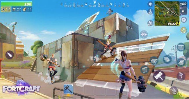 Fortcraft – китайская копия мобильной fortnite: battle royale
