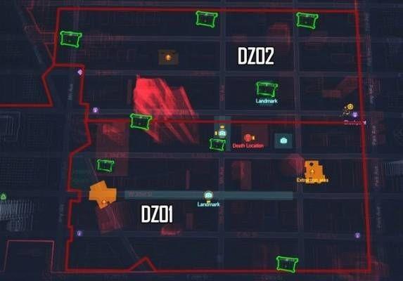 Гайд the division: карта контейнеров в темной зоне