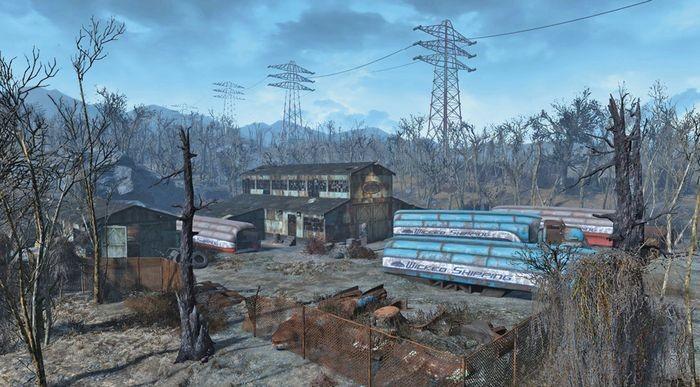 Хранилище лодок «викед шиппинг» | fallout 4