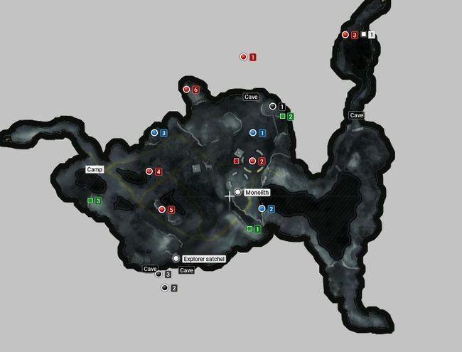 Карта | сибирская глушь | секреты