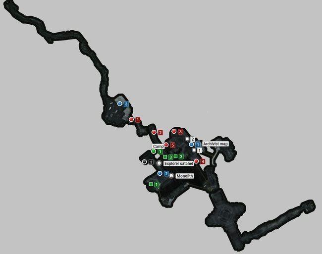 Карта   заброшенные шахты   секреты