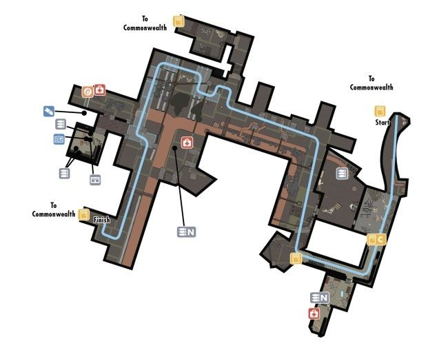 Конкорд   fallout 4   карта