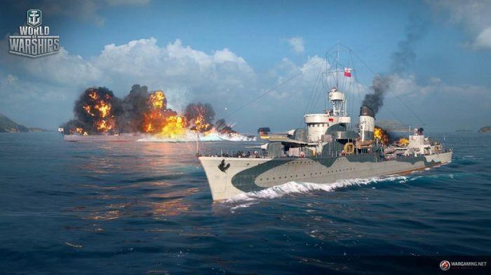 Новая технология на службе world of warships!