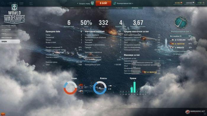 Обновление 0.5.10. немецкие линкоры