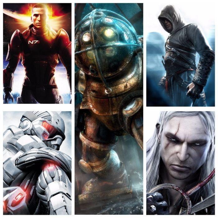 Популярные серии игр, которые в 2017 году отмечают свое десятилетие