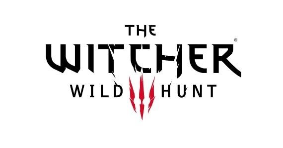 Представлены логотип и краткое описание the witcher 3: wild hunt