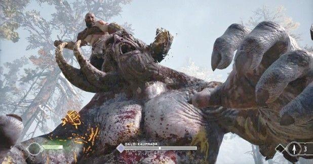 Прохождение god of war #4