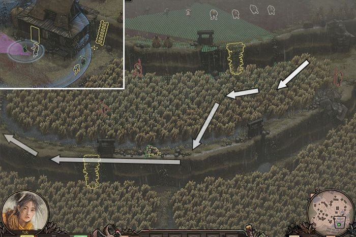 Прохождение shadow tactics: blades of the shogun. миссия 7