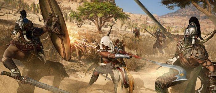 Разработчики assassins creed origins: лучшая версия игры будет на xbox one x