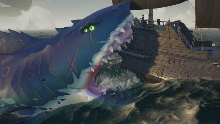Sea of thieves - как найти и убить мегалодона