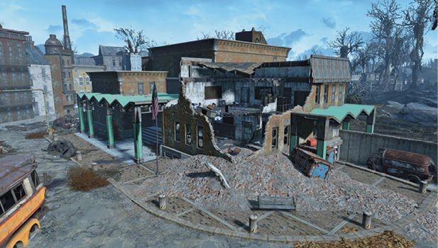 Средняя школа мальдена (убежище 75) | fallout 4 | карта
