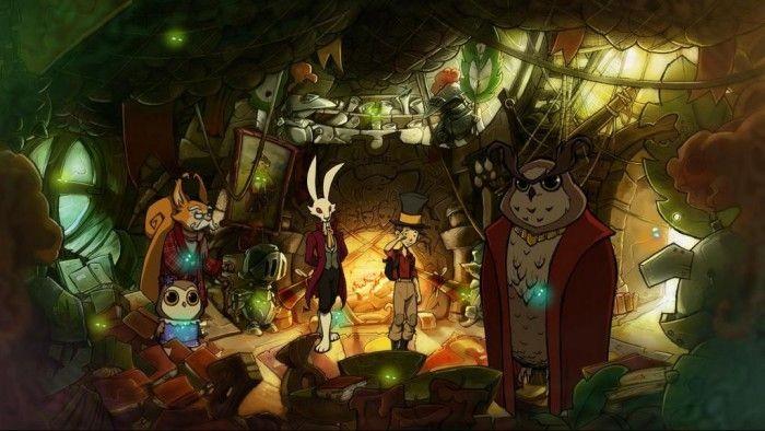 The night of the rabbit: обзор