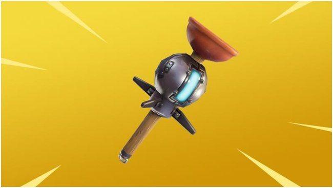 В fortnite появилось новое оружие – граната-липучка