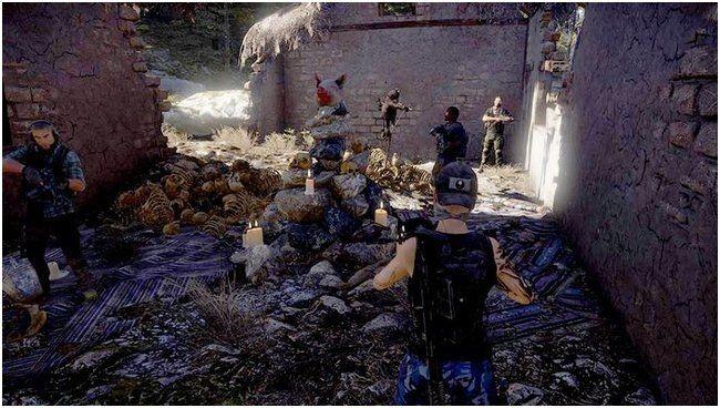 В ghost recon wildlands появится новое мистическое задание