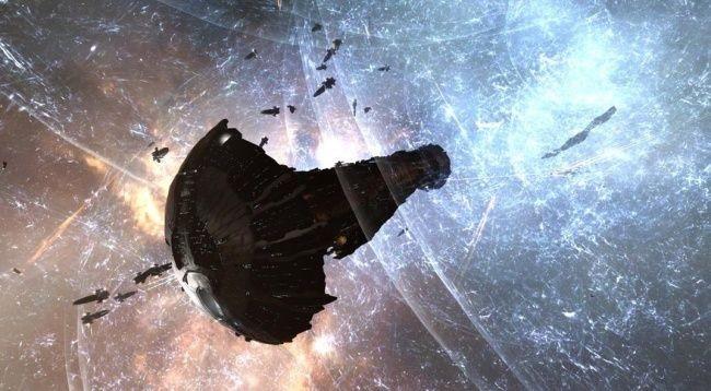 В грандиозном сражении eve online уничтожены корабли на сумму 13000 долларов
