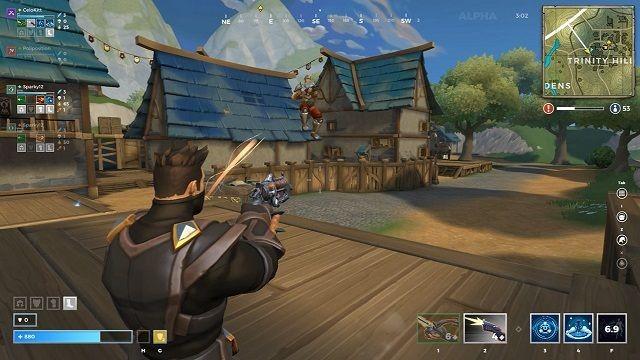Ведение боя и хитрости стрельбы в realm royale