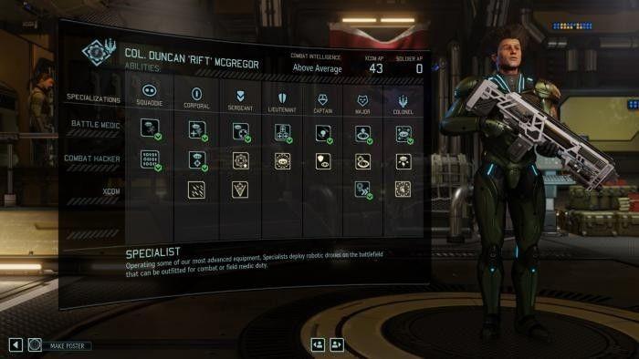 Взаимосвязь между бойцами и новые способности в xcom 2: war of the chosen