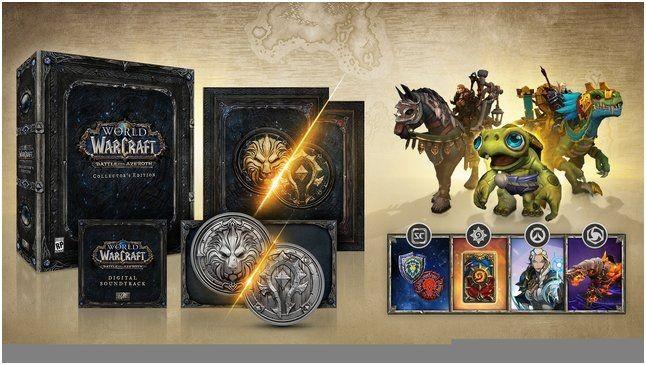 World of warcraft: battle for azeroth – полномасштабная война между альянсом и ордой