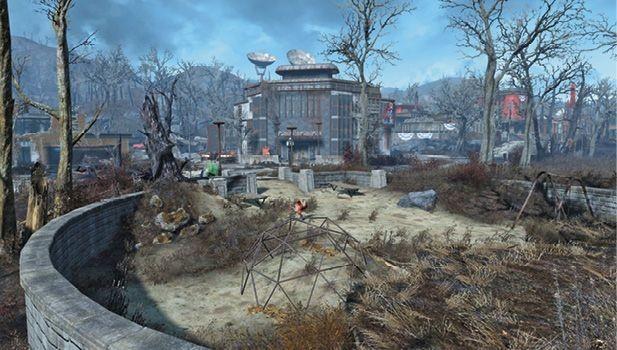 Заправочная станция базы форт-хаген | fallout 4 | карта